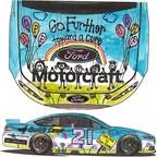 Maryn Winters' JDRF Race Car Design Contest winning design.