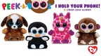 On Black Friday, Beanie Babies creator, Ty Warner of Ty, will debut Peek-A-Boos first ever commercial. Peek-A-Boos hold all phones upright for a hands free experience - the ideal gift and stocking stuffer for this holiday season.