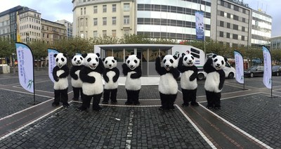 Panda Rail in Frankfurt