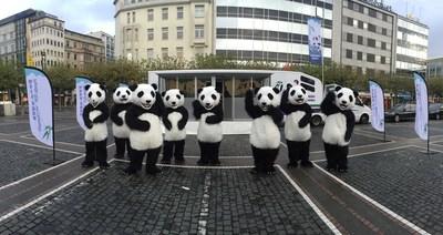 Panda Rail in Frankfurt
