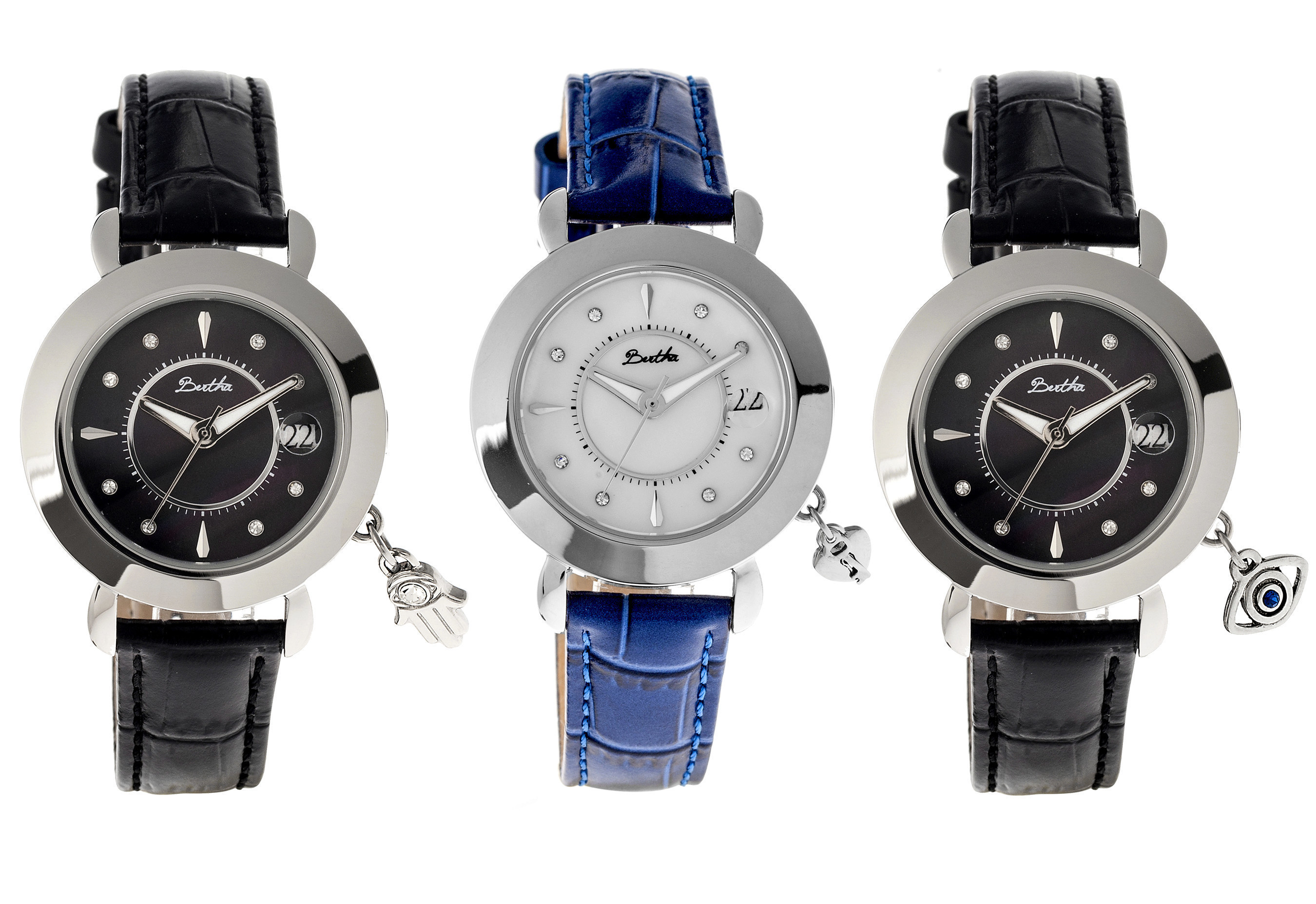 Bertha Watches Introduce Three New Designs to Their Charmed Collection