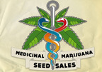 (855) 425-3437.  (PRNewsFoto/Reeferman Medical Marijuana Seeds)