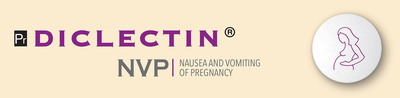 Diclectin - nausea and vomiting of pregnancy.  (PRNewsFoto/Duchesnay Inc.)