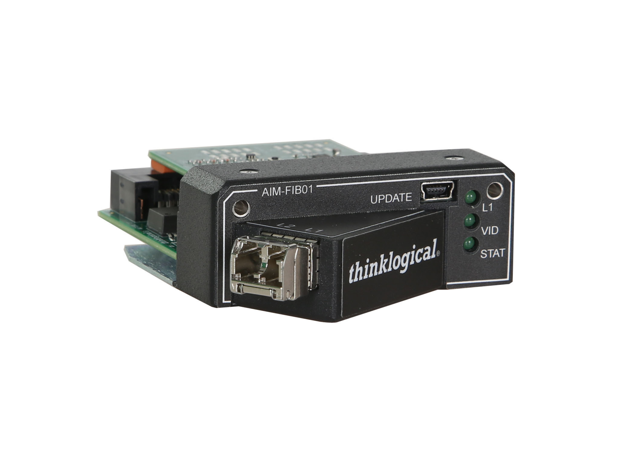 New Thinklogical Direct Input Fiber Optic Card for Christie ENTERO HB Video Wall Displays   (PRNewsFoto/Thinklogical LLC)