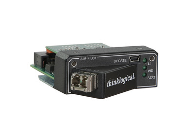 New Thinklogical Direct Input Fiber Optic Card for Christie ENTERO HB Video Wall Displays (PRNewsFoto/Thinklogical LLC) (PRNewsFoto/THINKLOGICAL LLC)