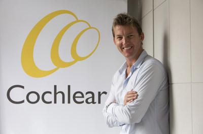 Brett Lee - Cochlear's First Global Hearing Ambassador (PRNewsFoto/Cochlear Limited)