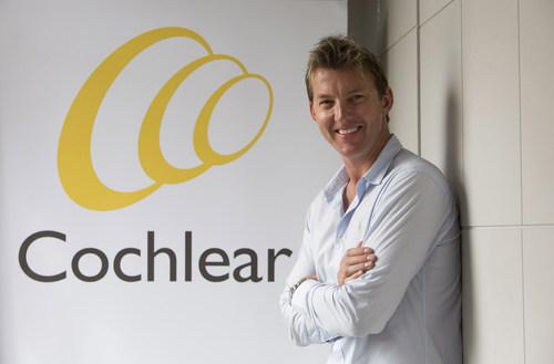 Brett Lee - Cochlear's First Global Hearing Ambassador (PRNewsFoto/Cochlear Limited) (PRNewsFoto/Cochlear ...