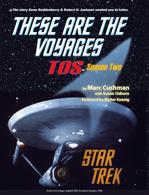 Book cover, These Are The Voyages - TOS: Season Two (PRNewsFoto/Marc Cushman)