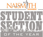 Naismith Student Section of the Year Award.  (PRNewsFoto/The Collegiate Licensing Company)