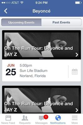 LIVE NATION ENTERTAINMENT PARTNERS WITH FACEBOOK(R) TO LAUNCH OFFICIAL EVENTS (PRNewsFoto/Live Nation Entertainment)