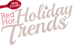 Red Hot Holiday Trends - modern takes on Holiday Classics; Test Kitchen recipes help bring trends to life at home.  (PRNewsFoto/Betty Crocker)