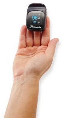 The NoninConnect(TM) Elite Model 3240 Bluetooth(R) Smart wireless finger pulse oximeter for clinicians and patients.