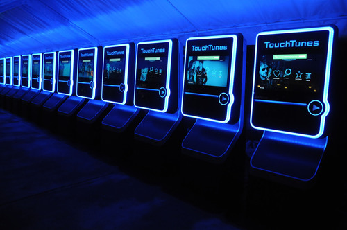 TouchTunes enabled crowdsourced music at the 2013 frog SXSW Interactive Opening Party.  (PRNewsFoto/TouchTunes Interactive Networks)