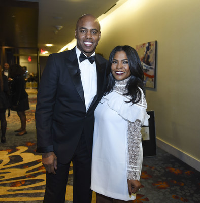 Entertainment Tonight's Kevin Frazier and actress Nia Long co-host The ELC's 30th Anniversary Recognition Gala