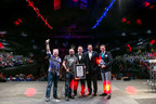 GUINNESS WORLD RECORDS(TM) title achieved at VEX Worlds for the largest student-led robotics competition!