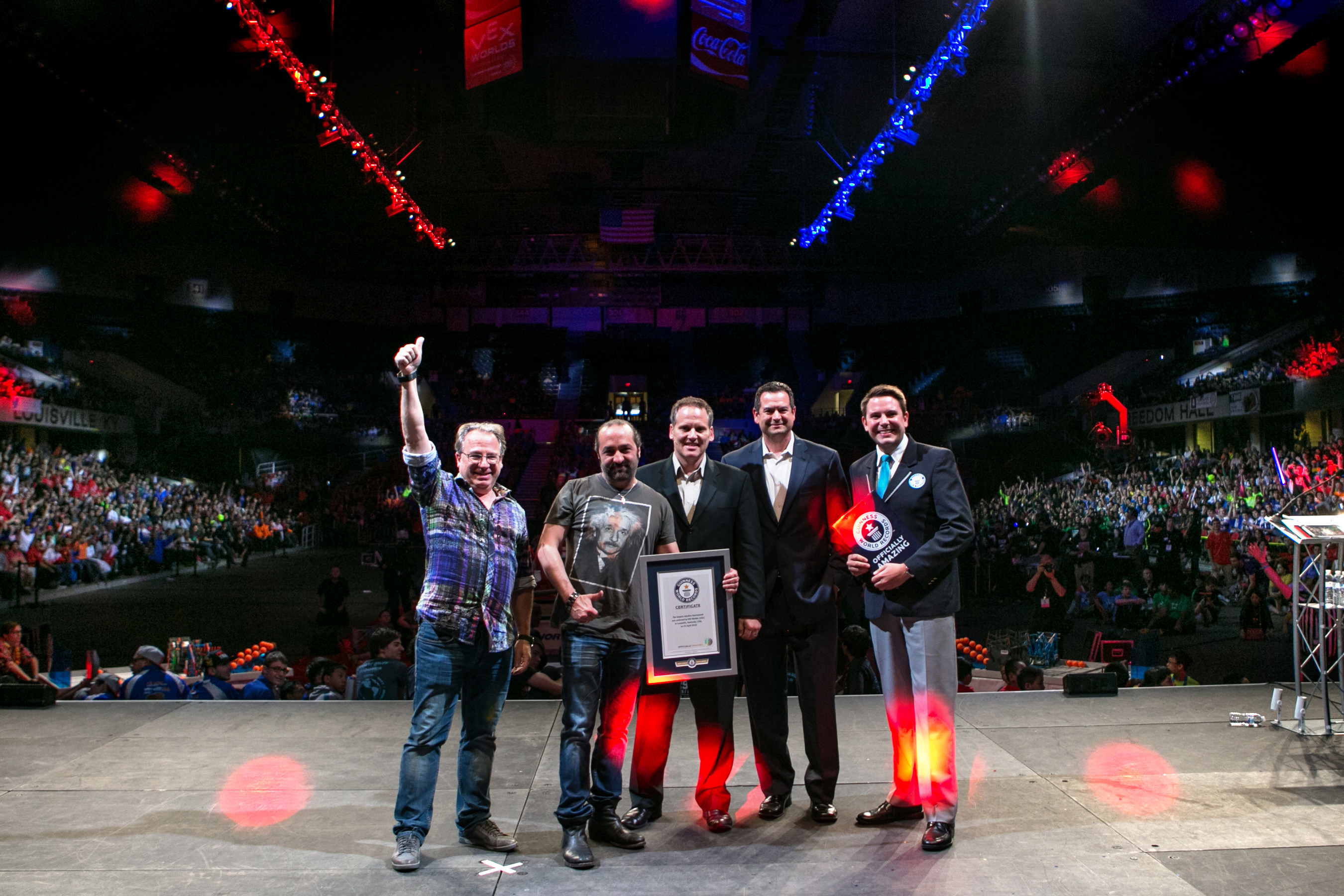 Robotics Students From Canada, China, Puerto Rico And The United States Of America Crowned Champions At VEX Worlds 2016