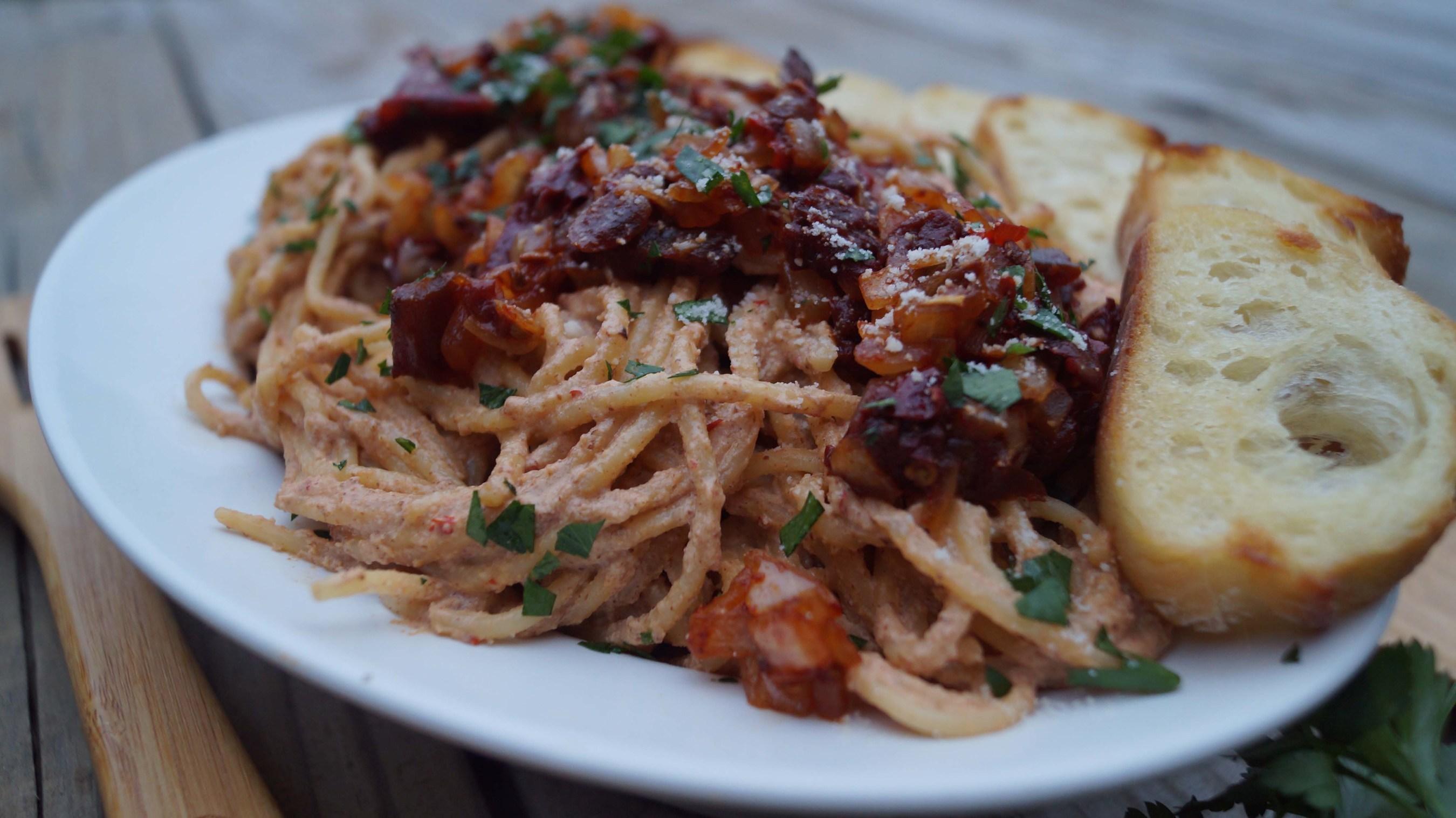 Barilla Celebrates the Holidays with Latin-Inspired Recipes like Barilla Spaghetti with Pecan Chipotle Sauce