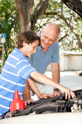 Tires, not Ties This Father's Day.  (PRNewsFoto/National Kidney Foundation)