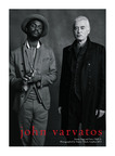 Emerging musician Gary Clark Jr. (left) and legendary Led Zeppelin guitarist Jimmy Page (right) wearing John Varvatos photographed by Danny Clinch in London for the John Varvatos Spring 2013 brand campaign.  (PRNewsFoto/John Varvatos)