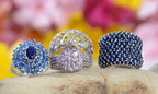 Colorful sapphire rings (PRNewsFoto/Liquidation Channel)