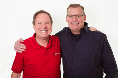 CEO, Randy Gier and Pie Five Pizza Co. franchisee, Carl Dissette