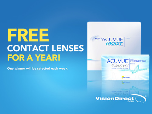 VisionDirect.com™ Announces Social Media Collaboration With ACUVUE® Brand Contact Lenses