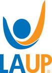 "LAUP Logo ""Championing Quality Preschool Education"""