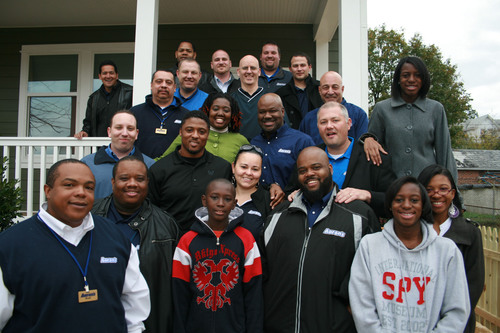 The Warrick Dunn Charities' Homes for the Holidays program, in conjunction with Aaron's Inc., provided ...