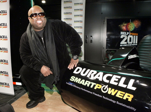 Grammy-Nominated Cee Lo Green Visits Duracell Smart Power Lab to Celebrate Final Pedal for New