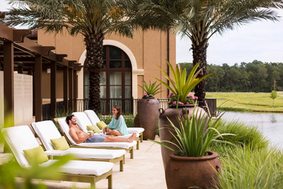 Unwind at one of three complimentary relaxation areas at The Spa.