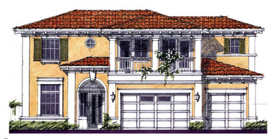 Standard Pacific Homes, one of the nation's leaders in homebuilding quality, today announced the acquisition of 675 acres in the Wiregrass area of New Tampa. Targeting the move-up buyer segment, the homebuilder will create over 20 all-new luxurious architectural designs to be offered on 1,180 homesites within four distinctive Wiregrass neighborhoods. Pictured above is the Italianate exterior, one of the architectural styles that will be offered at Wiregrass.  (PRNewsFoto/Standard Pacific Homes)