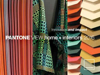 PANTONE VIEW home + interiors 2016