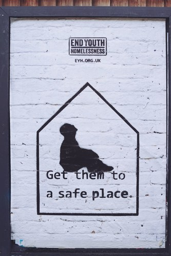 Get Them to a Safe Place campaign by End Youth Homelessness (PRNewsFoto/End Youth Homelessness)