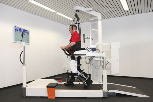 Kessler is the First Rehabilitation Center in the Nation to Use New Robotic Gait Training System