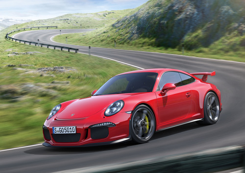 Porsche Celebrates the 50th Anniversary of the 911 with the Unveil of the New 911 GT3 at the Geneva Motor Show.  ...