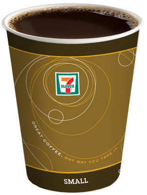 7-Eleven launches new Brazilian Dark Roast for $1 on any size coffee cup Wednesdays during January.  (PRNewsFoto/7-Eleven)