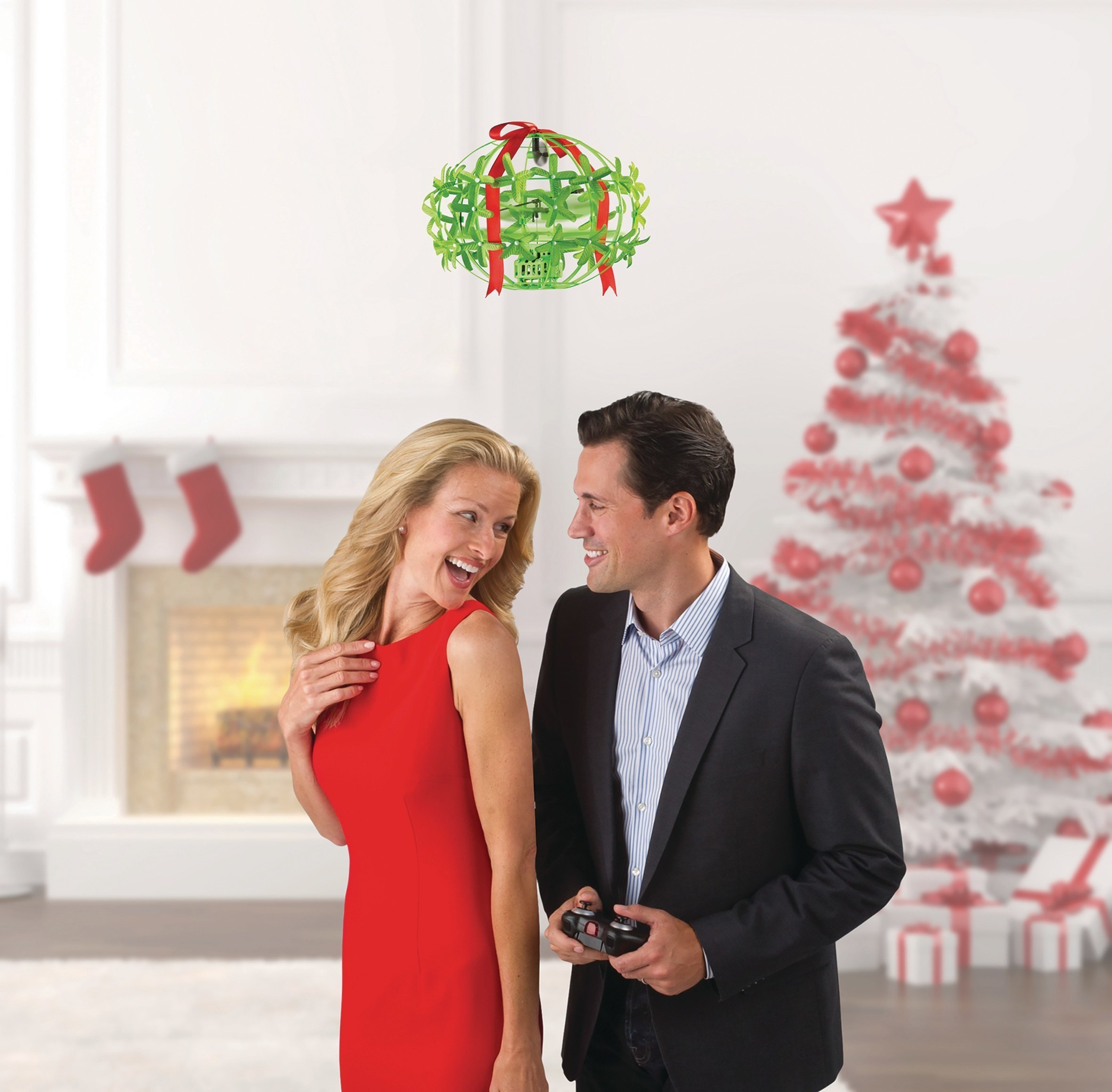 Hammacher Schlemmer Introduces The Mistletoe Drone