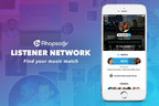 New social features powered by Music Intelligence Engine(TM) allow Rhapsody subscribers to share and discover music with friends and others with similar tastes.