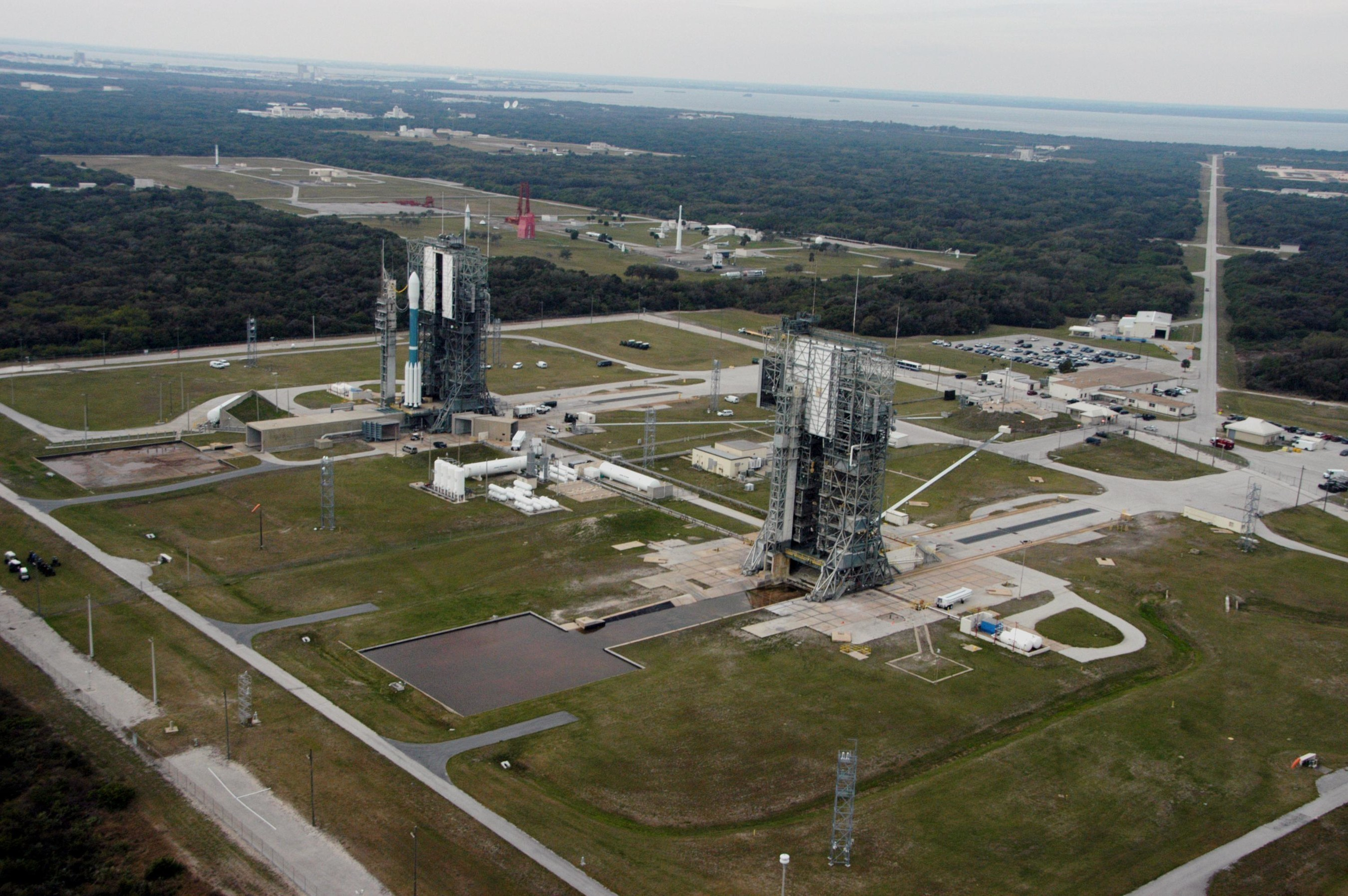 Space Launch Complex 17 at Cape Canaveral [2007]