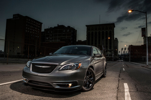 Legendary Detroit Companies Carhartt and Chrysler Team Up to Introduce a Car that Personifies Hard Work and Rugged Perseverance -- the 2013.5 Chrysler 200 S Special Edition Mid-size Sedan.  (PRNewsFoto/Chrysler Group LLC)