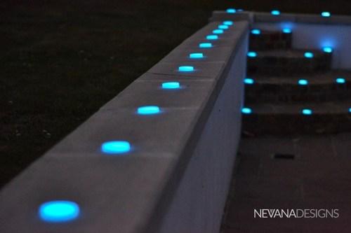ECO-DISC stairwell lighting (PRNewsFoto/Nevana Designs) (PRNewsFoto/Nevana Designs)