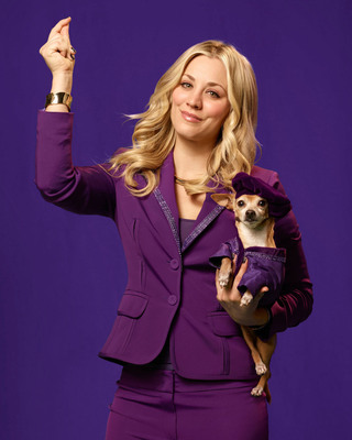 Actress Kaley Cuoco will appear in the Toyota Super Bowl XLVII commercial.  (PRNewsFoto/Toyota Motor Sales, U.S.A., Inc.)