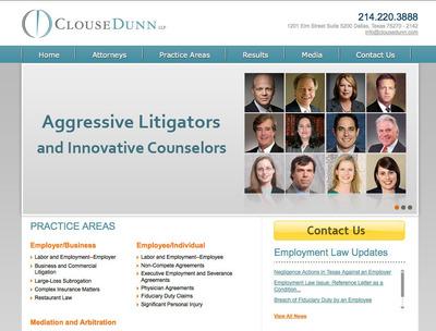Clouse Dunn LLP Launch Updated Website.  (PRNewsFoto/Clouse Dunn LLP)