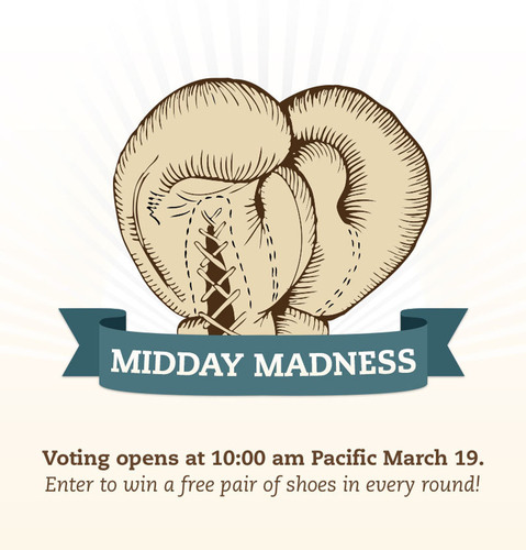 OnlineShoes.com Announces Second Annual Midday Madness Contest.  (PRNewsFoto/OnlineShoes.com)