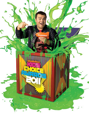 Jack Black, host of the 24th Annual Nickelodeon Kids Choice Awards.  (PRNewsFoto/Nickelodeon, Sam Jones)