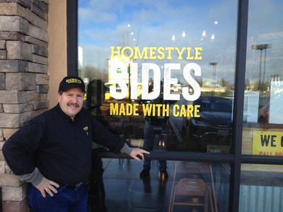 Rich Breedlove and his team of owner/operators open Dickey's Barbecue Pit in Petaluma on Thursday.