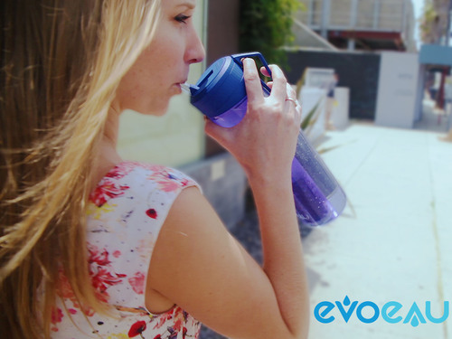 The Evo Eau bottle will easily find its way into your daily life. Built for everyone, ready for anything. (PRNewsFoto/Evo Eau) (PRNewsFoto/EVO EAU)