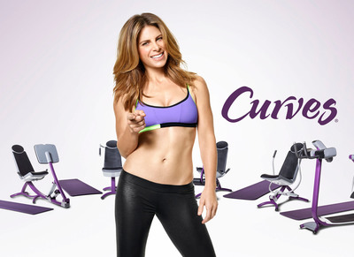 Curves today announced it has teamed up with America's health and wellness expert Jillian Michaels to launch Curves Workouts with Jillian Michaels - cutting-edge total body workouts that feature the Curves Circuit strength training machines in conjunction with functional bodyweight-based exercises that ramp up metabolism and transform physique.  (PRNewsFoto/Curves International, Inc.)