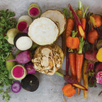 The new line, available on OmahaSteaks.com, includes five different collections of chef-grade artisanal produce grown by The Chef's Garden, including: Roasting Box, Juicing Box (pictured), Beauty Box, Roots & Shoots Box and the Nature's Color Box.