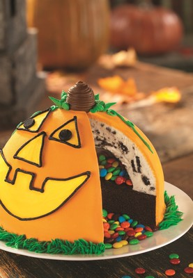 No Tricks, Just Treats! Baskin-Robbins Celebrates Halloween Season With New Pinata Pumpkin Patch Cake And Trick Oreo(R) Treat Flavor Of The Month